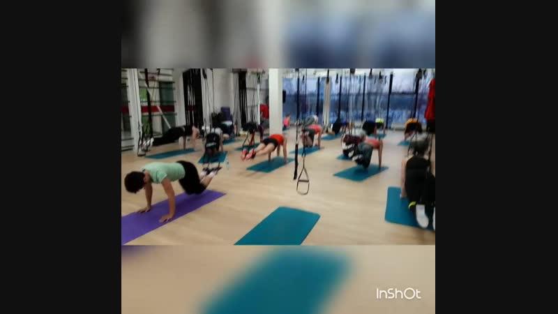 кросскор TRX тренировки в БОТЕК- Wellness » Freewka.com - Смотреть онлайн в хорощем качестве