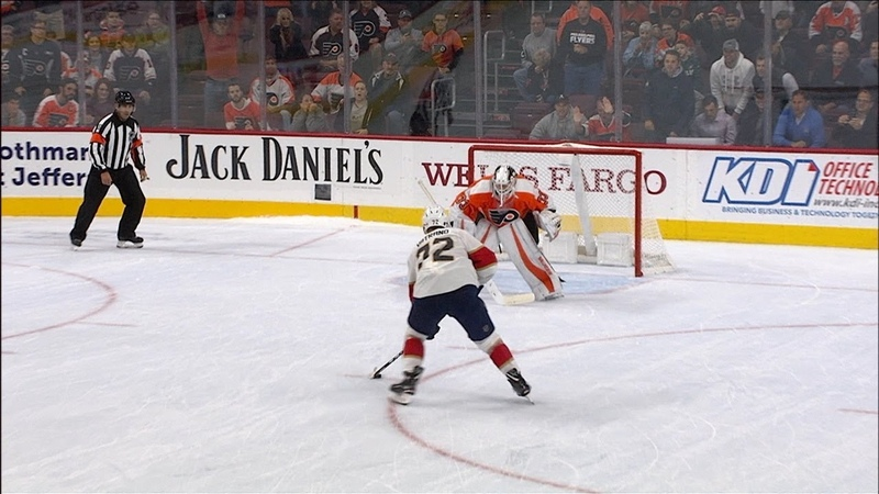 Flyers and Panthers duel in shootout
