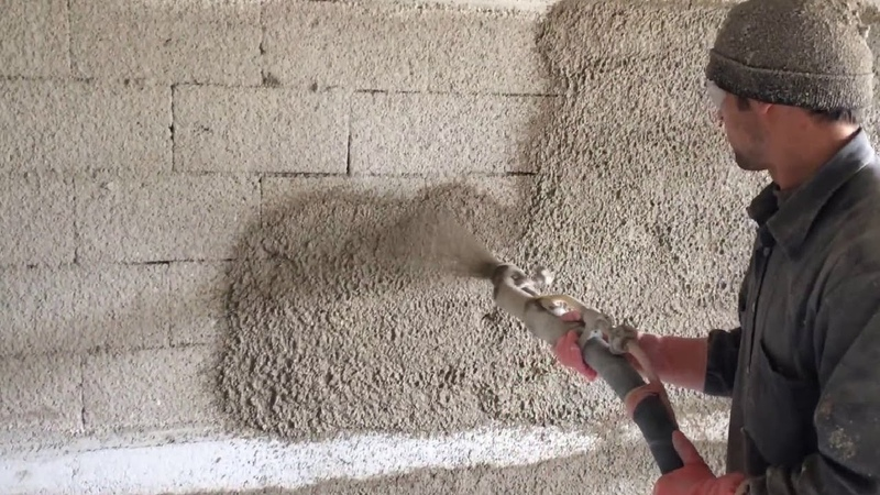 Fastest Cement Plaster Spray Machine Latest Technology Construction Equipment Machinery