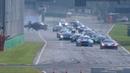 International GT Open 2018. Race 2 Autodromo Nazionale Monza. Final Lap | Huge Crash