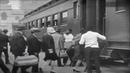 În tren Berth marks 1929