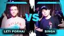 LETI PORHAI vs SINGA 1/4 FINAL EVRBDY vs KRUMP BTA BATTLE