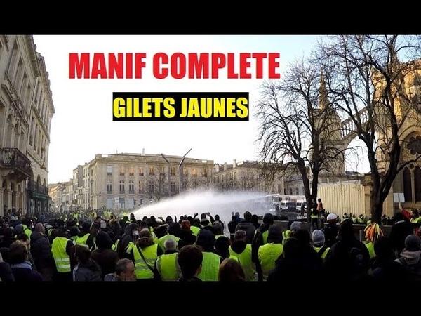 AU CŒUR DES GILETS JAUNES BORDEAUX ACTE 8 MANIFESTATION COMPLÈTE 5 JANVIER 2019