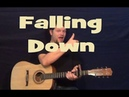 Falling Down (MUSE) Easy Guitar Lesson How to Play Tutorial