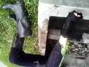 MSV Very hard clutch my old ultra rare soviet Len CNH Red triangle 66 67 un pair boots