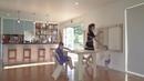 Складной подвесной стол и стулья