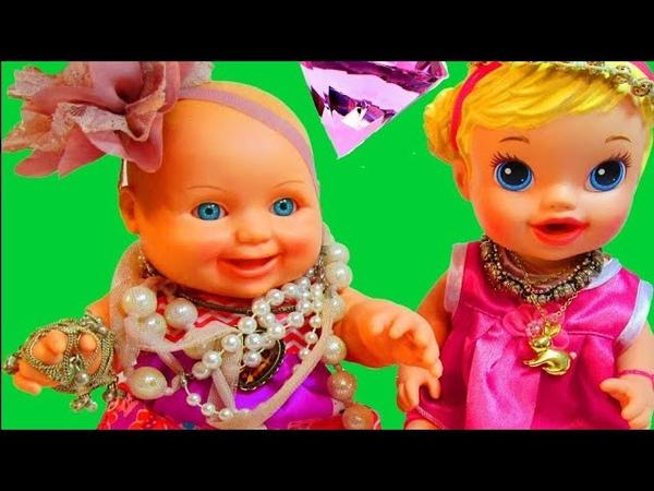 Игрушечные приключения Маши и Даши 3 серия Мультик для девочек Куклы пупс Дочки матери на русском