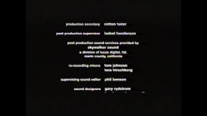 Movie End Credits 433 The Yards