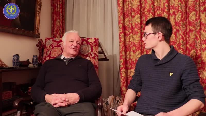 Dix minutes de vérité avec André Charles, Président du comité directeur de L' Action Française