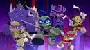 Черепашки-ниндзя герои в панцирях