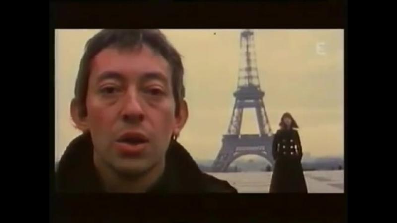 Serge Gainsbourg Jane Birkin - Je taime... moi non plus-Original videoclip (Fontana 1969)