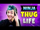 NINJA BEST FORTNITE THUG PRO MOMENTS Ep.2 Fortnite Thug Life Funny Moments