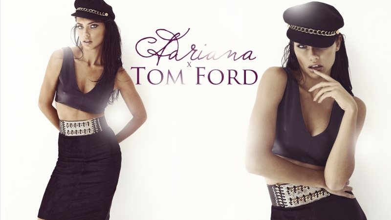 Adriana Lima Gets Ready for the Tom Ford Show (RUS SUB)