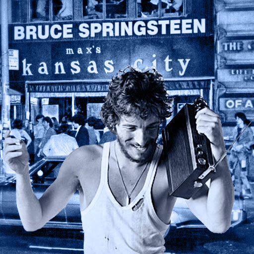 Bruce Springsteen альбом Live at Max's Kansas City, NY 31 Jan 73