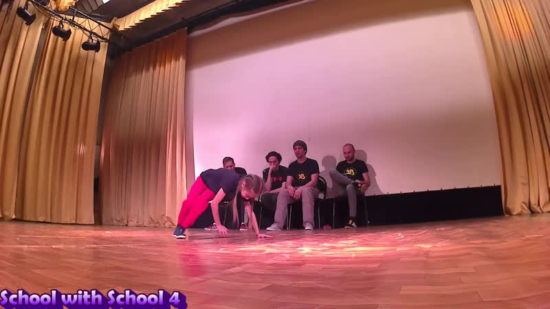 School with School 4 - Илья vs Регина