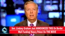 Sen Lindsey Graham Just ANNOUNCED THIS On Border Wall Funding Nancy Pelosi On THE MOVE VIDEO