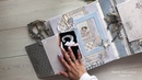 Детский альбом для мальчика / Baby album Maja Design Vintage Baby