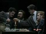 Luciano Pavarotti &amp Mirella Freni - Puccini (La Boheme) 1996 Live