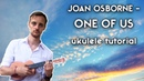 Ukulele. Joan Osborne - One Of Us ukulele tutorial