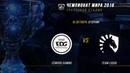 EDG vs TL — ЧМ-2018, Групповая стадия, День 7, Игра 5