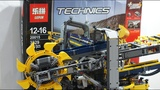 Review Lepin Technics 20015 aka Lego Technics 42055 Bucket Wheel Excavator Review