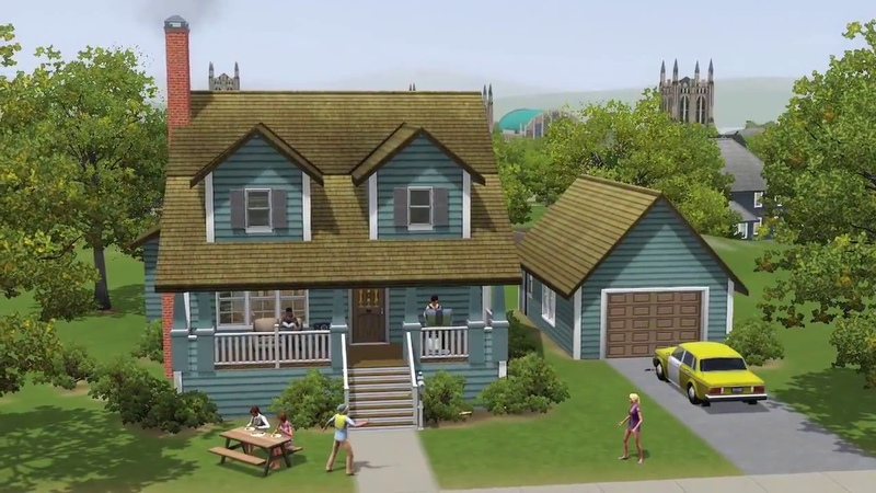 The Sims 3 University Life Gameplay Walkthrough