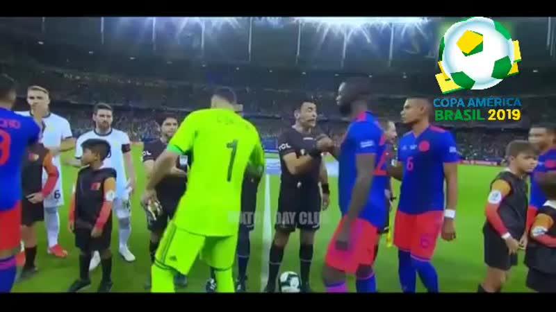 ☆Argentina vs Colombia☆ mp4