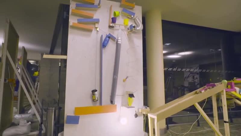 Самая большая в мире машина Голдберга