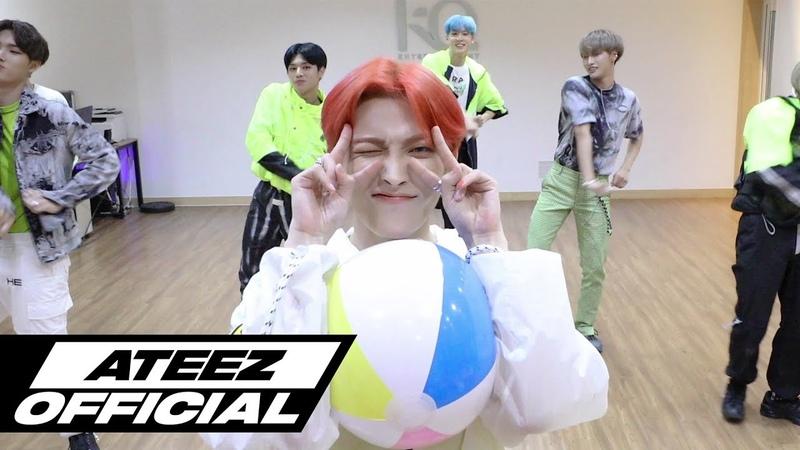 ATEEZ(에이티즈) - WAVE Dance Practice (우당탕탕 큐티 ver.)
