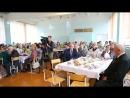Поздравление ветеранов педагогов с Днем учителя школа №6 сентябрь Южноуральск 20