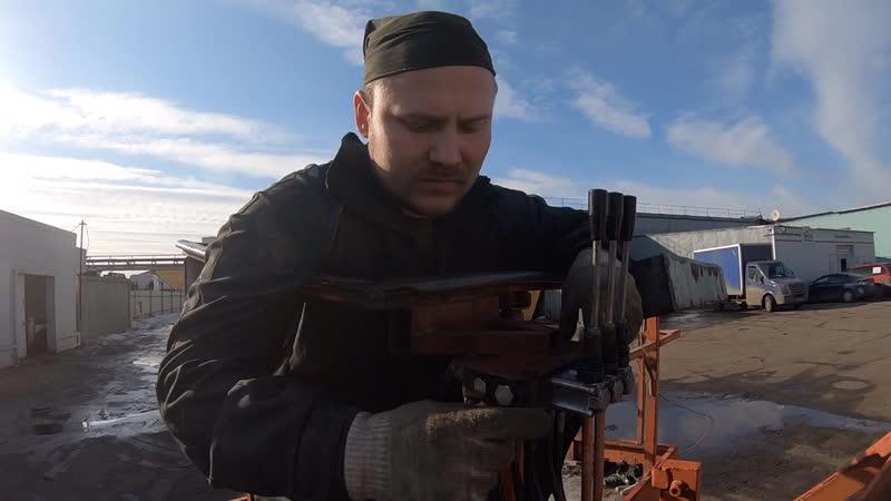 Заключение мастера и результат после ремонта авгогидроподъемника ПСС-131.17Э. Ремонт АГП в Москве