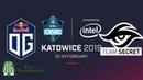OG vs Secret - Game 2 - ESL One Katowice 2019 - Group Stage.