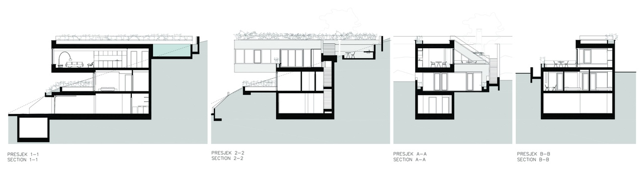 Tinel Vacation Houses / SODAarhitekti