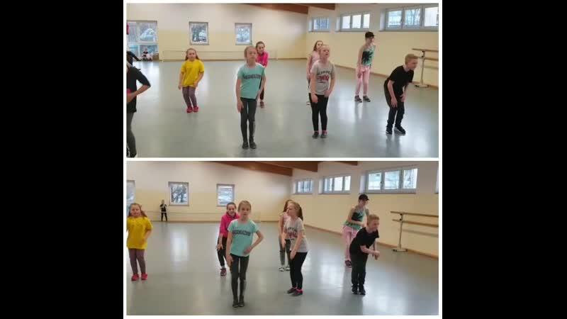 Работа с хореографическом текстом по методу Лабана