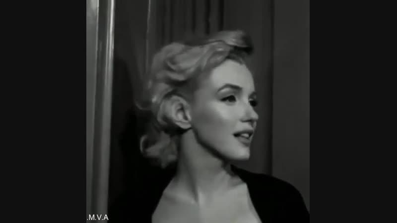 Marilyn says (фрагмент интервью c Мэрилин Монро)
