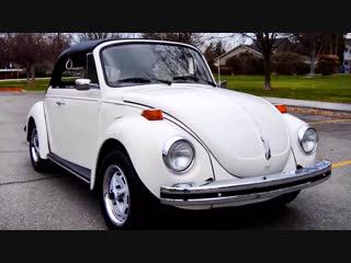 Автомобиль volkswagen super beetle convertible, 1975 года
