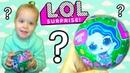 L.O.L. Surprise Кукла ЛОЛ Распаковка обзор Открываем сюрприз с куклой ЛОЛ