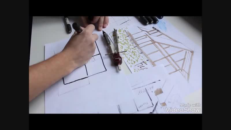 Как создается дом фахверк