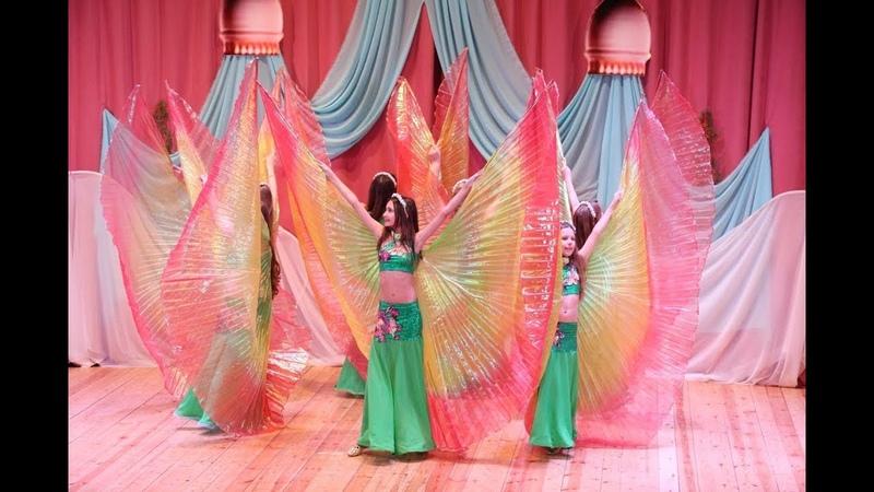 Студия восточного танца Гюльчатай Группа Бирюза - танец Лесные эльфы