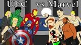 Герои Marvel vs бойцов UFC Бои без правил ММА