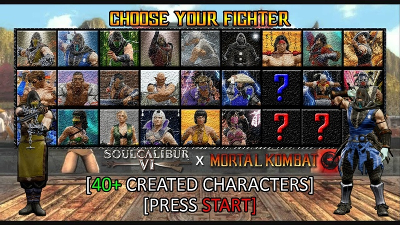 Soul Calibur VI: SC x Mortal Kombat | Custom Character Showcase (40)