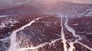 Ski Season Opening 18 19 from drone at Sheregesh