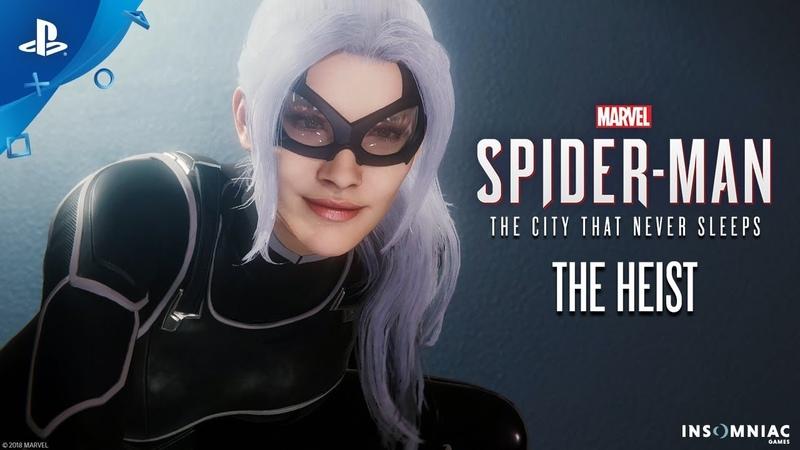 Marvel's Spider Man The Heist DLC 1 Teaser PS4