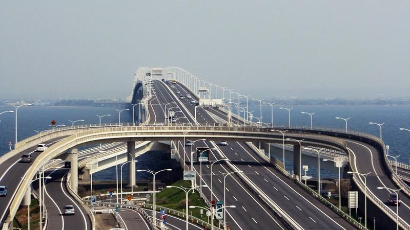 Самый длинный подземный тоннель в Японии - Как устроен мост-тоннель за 11 млрд