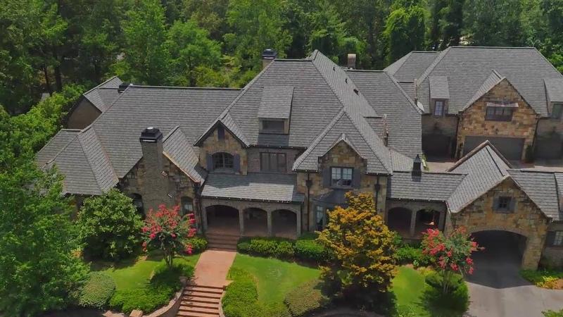 FlyWorx.co Atlanta Country Club Estate - Berkshire Hathaway - 410 Oakmont Cir, Marietta, GA 30067
