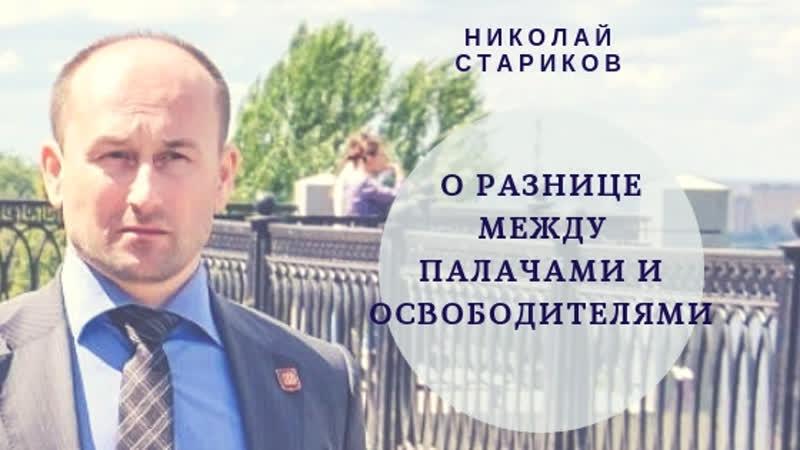 Николай Стариков о разнице между палачами и освободителями