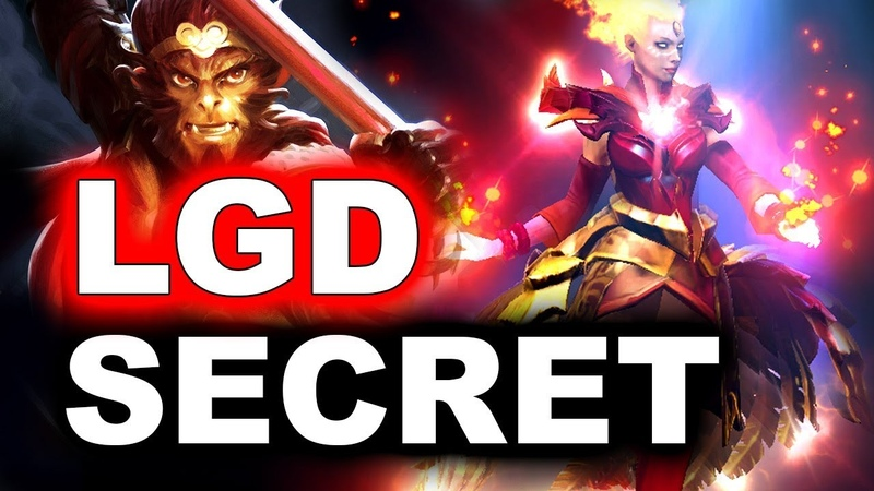 SECRET vs PSG.LGD - WHAT A GAME! - PVP ESPORTS DOTA 2