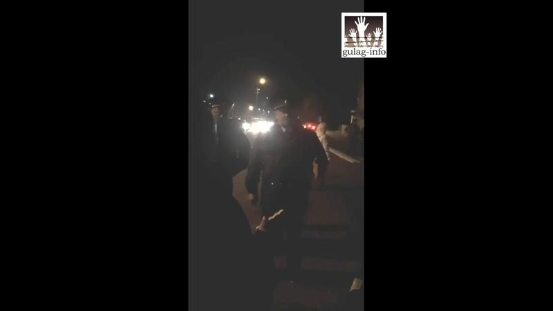 Полицейский произвол в отношении родственников осужденных рядом с Омской ИК-6
