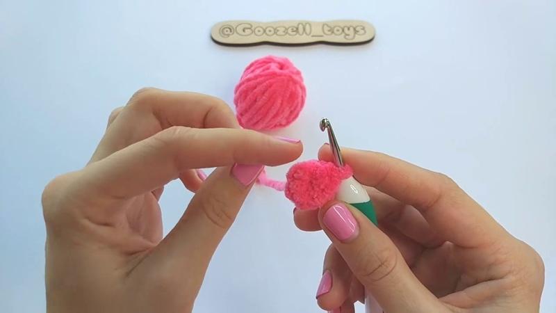 С ЧЕГО НАЧАТЬ вязание игрушек амигуруми из плюшевой пряжи