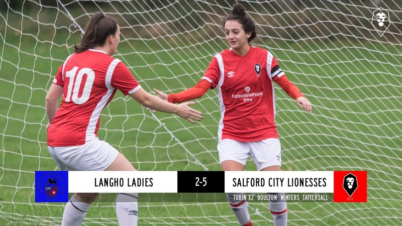 Langho Ladies 2 5 Salford City Lionesses GMWFL Division 1